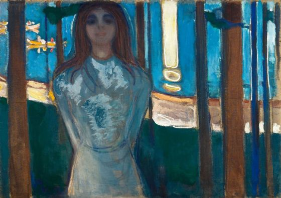 Munch, Edvard: The Voice, Summer Night. Fine Art Print/Poster. Sizes: A4/A3/A2/A1 (0086)